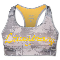 Women's Nike Livestrong Graphic Pro Bra