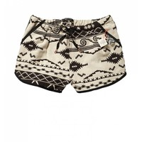 Cute retro inspired ikat shorts