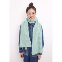 d/s by Drive Store™ Mohair Blend Oversized Textural Knitted Scarf