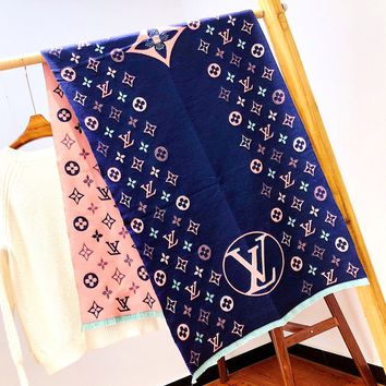 Free Shipping-LV Winter New Scarf