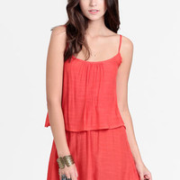 Mojave Sun Tiered Tank Dress - $35.00 : ThreadSence, Women's Indie & Bohemian Clothing, Dresses, & Accessories