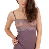 So Fine with Lace Bodice Cami - OnlyHearts.com