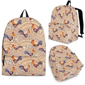 Bohemian Rooster Backpack