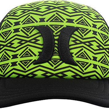 Hurley - Womens One & Only Trucker Hat, Size: O/S, Color: Ghost Green