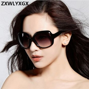 Mirror Sunglasses Women Brand Lens Large Frame Female Sun glasses Women Vintage