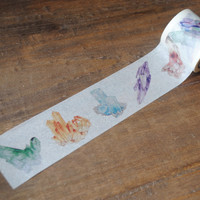 Watercolor Crystal Washi Tape