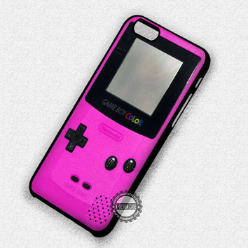 Retro Gameboy Pink - iPhone 7 6 Plus 5c 5s SE Cases & Covers