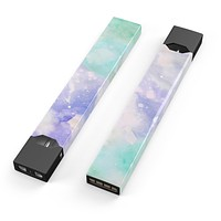 Skin Decal Kit for the Pax JUUL - Bright v3 Absorbed Watercolor Texture