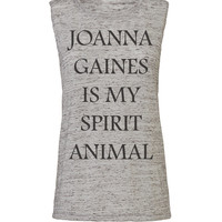 joanna gaines is my spirit animal, workout tank, workout top, workout womens, workout shirts, workout clothes, gym tank, gym, activewear