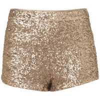 Gold Sequin Knickers