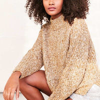 Silence + Noise Easton Mock Neck Sweater - Urban Outfitters