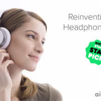 Aivvy Q: Smart Headphones Caches Personalized Music For You