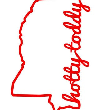 """Mississippi """"Hotty Toddy"""" Decal"""