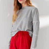 Tommy Hilfiger X UO Iconic Quilted Sweatshirt   Urban Outfitters