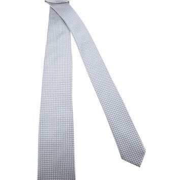 Dolce & Gabbana checked silk tie