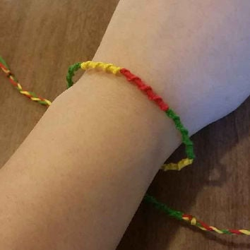 Colorful Hippie Bracelet/Anklet