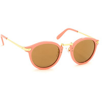 Cool Cat Mirrored Sunglasses - Pink
