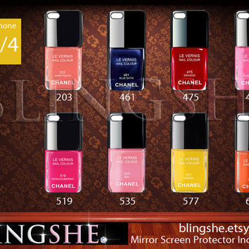 Chanel iPhone 4 Case Nail Polish  8 Color Options by BlingSHE