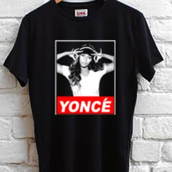 beyonce yonce obey style T-shirt Men, women and Youth