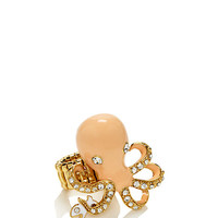 Kate Spade Shore Thing Octopus Ring Geranium Multi ONE