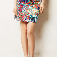 Meadow Lined Pencil Skirt