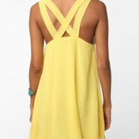 UrbanOutfitters.com > Lucca Couture Chiffon Tie Top Baby Doll Dress