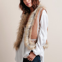 Wichita Faux Fur Vest