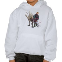 Sven, Olaf and Kristoff Hoodie from Zazzle.com