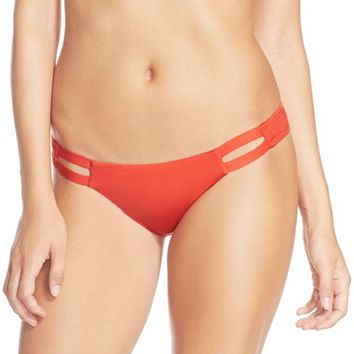 Women's Vitamin A 'Neutra' California Cut Hipster Bikini Bottoms,