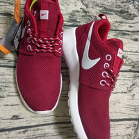 NIKE Women Men Running Sport Casual Shoes Sneakers wine red