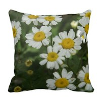 Chamomile Flowers Pillow
