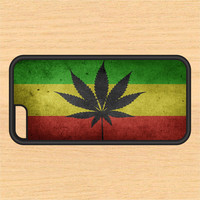 Weed Leaf Reggae PC SEC1 Print Design Art iPhone 4 / 4s / 5 / 5s / 5c /6 / 6s /6+ Apple Samsung Galaxy S3 / S4 / S5 / S6