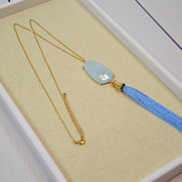 Periwinkle Please Necklace