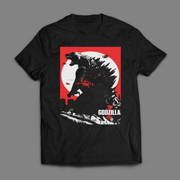 GODZILLA MOVIE POSTER ART T-SHIRT