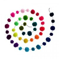 Pom Pom Garland | Cards & Decorations | Oliver Bonas