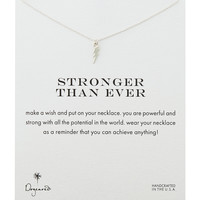 Stronger Than Ever Silver-Plated Necklace - Dogeared - Silver