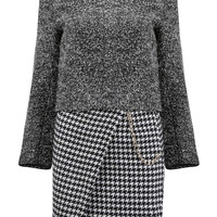 Co-ords in Houndstooth Print