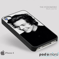 Harry Styles Black and White for iPhone 4/4S, iPhone 5/5S, iPhone 5c, iPhone 6, iPhone 6 Plus, iPod 4, iPod 5, Samsung Galaxy S3, Galaxy S4, Galaxy S5, Galaxy S6, Samsung Galaxy Note 3, Galaxy Note 4, Phone Case
