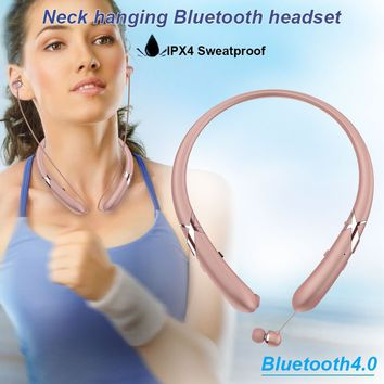 V4.0 Bluetooth Earphone Smart Phone Wireless Bluetooth Earphone Durable Telephone Bluetooth  Headset Portable Phone Dorpshipping
