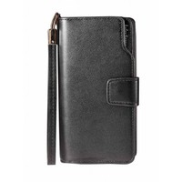 Synthetic Leather Wallet Card Holder Money Clip