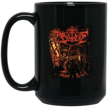Demon Souls Dark Souls T-SHIRt-01 BM15OZ 15 oz. Black Mug