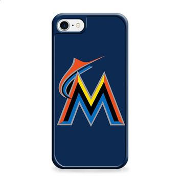 MIAMI MARLINS BASEBALL LOGO BLUE iPhone 6 | iPhone 6S case
