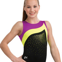 Color Block Tank Leotard from GK Elite