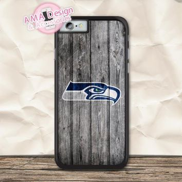 Seattle Seahawks Football Case For iPhone X 8 7 6 6s Plus 5 5s SE 5c 4 4s For iPod Touch