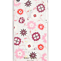 kate spade new york Jeweled Casa Flora Clear iPhone 7 Case | macys.com