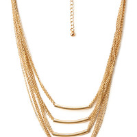 FOREVER 21 Touch-Of-Glam Layered Necklace Gold One