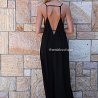 SECRET VALENTINE MAXI , DRESSES, TOPS, BOTTOMS, JACKETS & JUMPERS, ACCESSORIES, 50% OFF SALE, PRE ORDER, NEW ARRIVALS, PLAYSUIT, COLOUR, GIFT VOUCHER,,MAXIS,BACKLESS,SLEEVELESS,Black Australia, Queensland, Brisbane