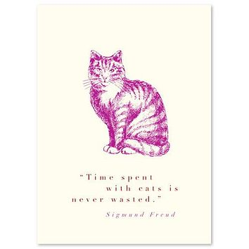 Animal Cat Quote (Sigmund Freud)