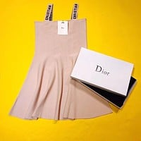 Dior Fashion Halter Dress