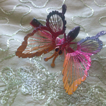 BUTTERFLY HAIR CLIP Vintage Hair Accessory,Butterfly Hairpin